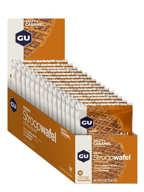 GU Energy StroopWafel Box 16x30/32g Salty's Caramel